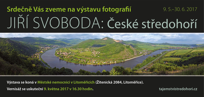 Výstava Tajemství Českého středohoří v Městské nemocnice, Litoměřice